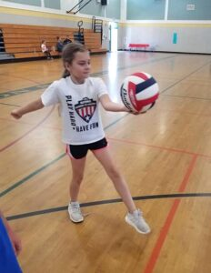 NAofA volleyball girl