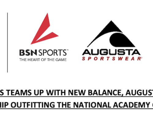 BSN SPORTS TEAMS UP WITH NEW BALANCE, AUGUSTA THROUGH PARTNERSHIP OUTFITTING THE NATIONAL ACADEMY OF ATHLETICS